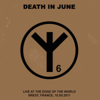 "DEATH IN JUNE - Live At The Edge Of The World CD+7""EP"