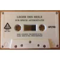 LEGER DES HEILS - Sub Specie Aeternitatis MC - MISPRINT EDITION!
