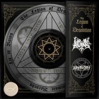 LIE IN RUINS / PURGATORY - The Legion Of Desolation LP