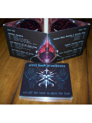 STEEL HOOK PROSTHESES - Cut Off The Nose To Spite The Face... 2CD