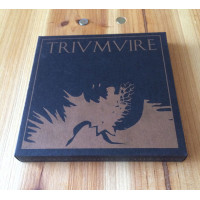 STAHLWERK 9 / COLD FUSION / RUKKANOR - Triumvire CD (black)
