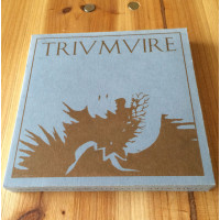 STAHLWERK 9 / COLD FUSION / RUKKANOR - Triumvire CD (grey)